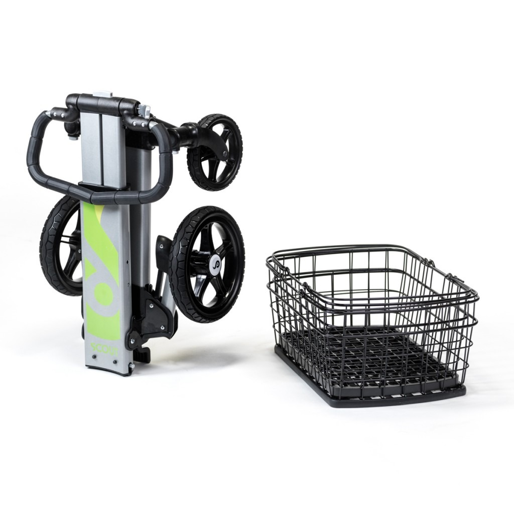 Portable Shopping Cart With Wheels And Dishwasher Safe Baskets