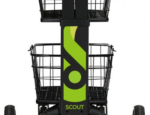SCV3 Folding Cart In Black Has Arrived!
