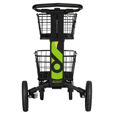 ScoutCart - Black with green accents