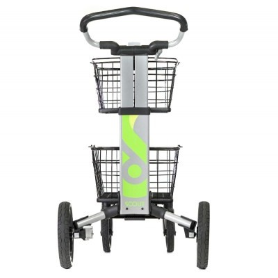 ScoutCart - Silver with green accents